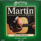 Martin Acoustic 80/20 Bronze Extra Light 10 - 47 String Set  M170
